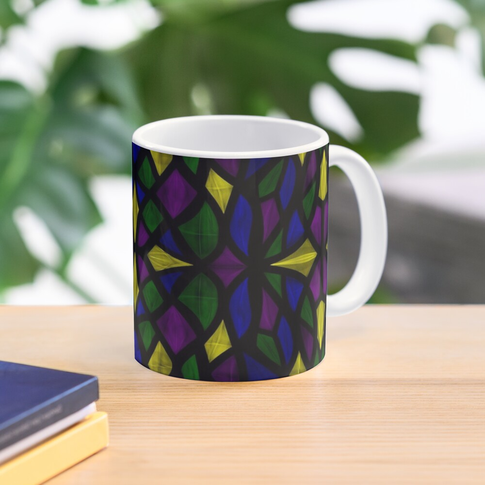 Stained Glass Scales Mug