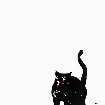 The Black Cat by InkRain