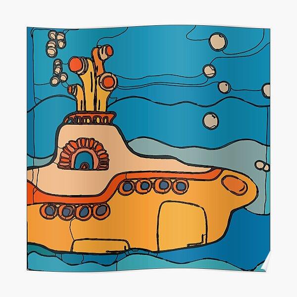 My Yellow Submarine  Poster