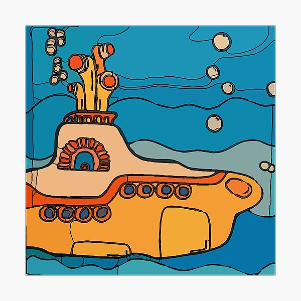 My Yellow Submarine  Photographic Print