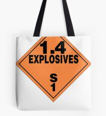 TDG Explosives Tote Bag