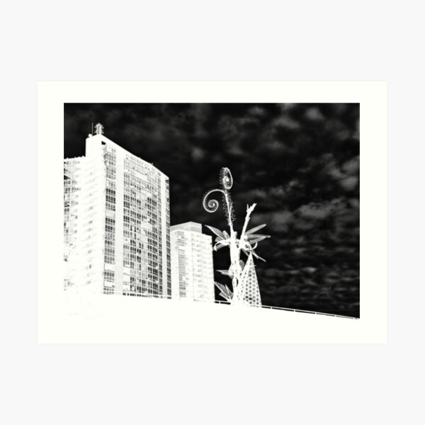 The new structure Art Print