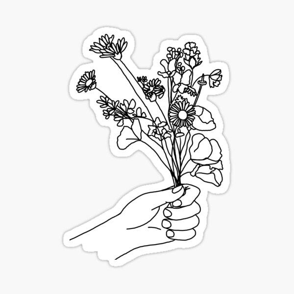 wild flower Sticker