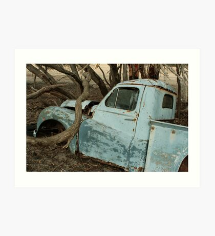 Austin A70 Hampshire Ute, Left Door Art Print