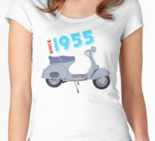 Vespa VS1 1955 Women's Fitted Scoop T-Shirt