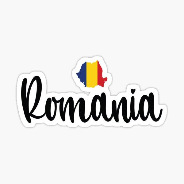 Romania Raised Me Growing Up Romanian Sticker