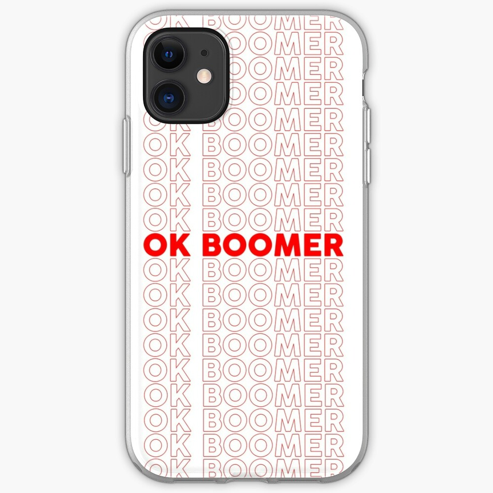 Ok Boomer Repeated iPhone Case & Cover