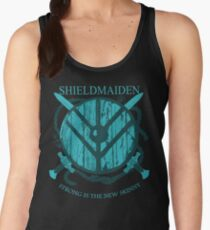 Shieldmaiden - Strong is the new skinny Women's Tank Top