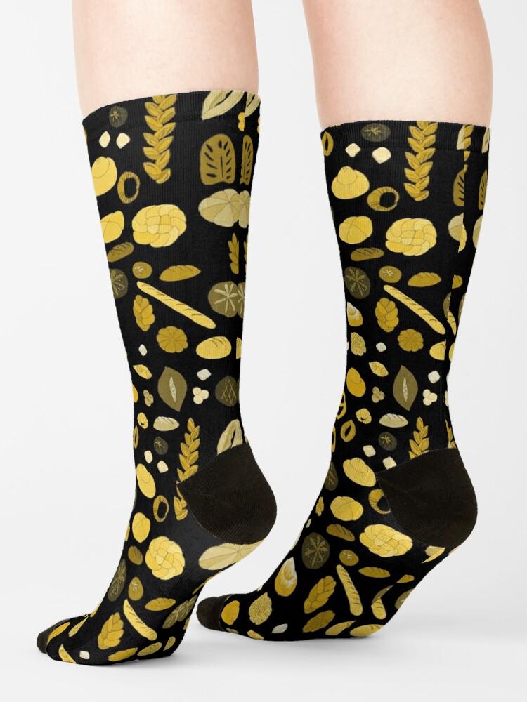 Alternate view of Boulangerie Socks