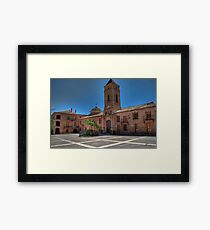 La Plaza Framed Print