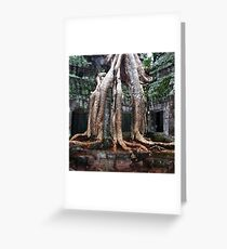 Temple Roots Greeting Card