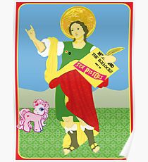 Curious representation of San Punkcrazio Poster