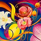 Fantasy in Floral by Brian Tisdall