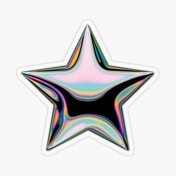 Holo STAR ~  Transparent Sticker