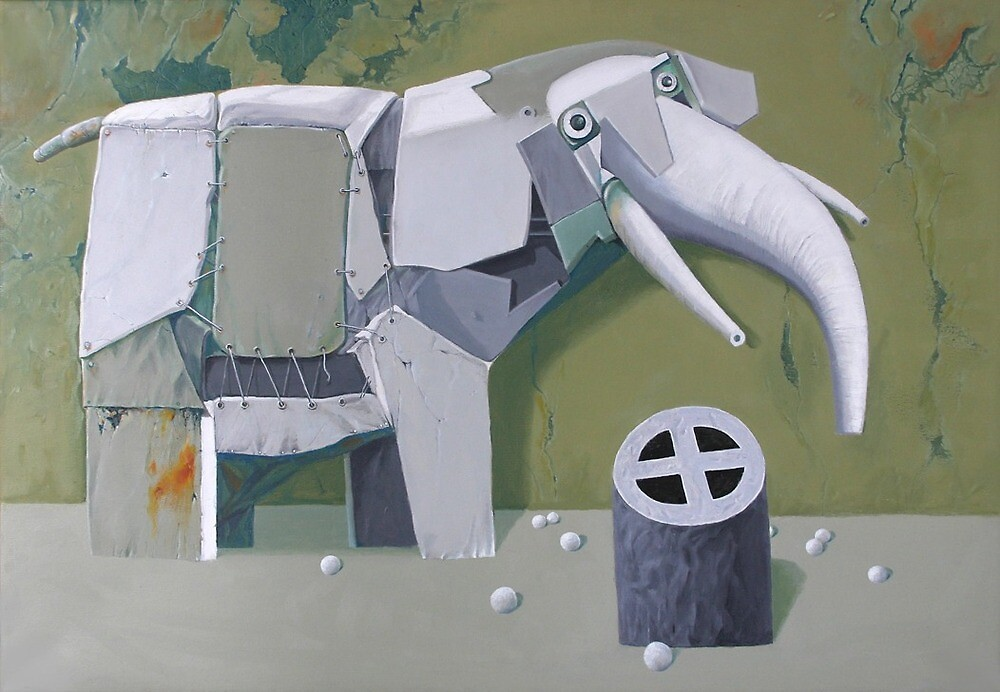 elephant 2 by Valeriu Buev