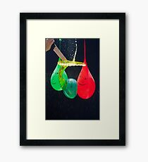 Balloonicidal I Framed Print