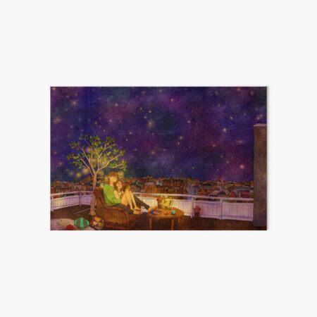 Stargazing Art Board Print