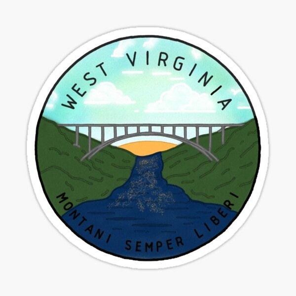 Wild and wonderful, West Virginia Sticker