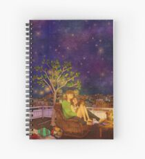 Stargazing Spiral Notebook