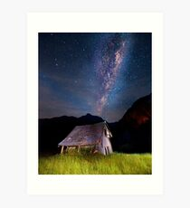 The barn at the end of the universe Art Print