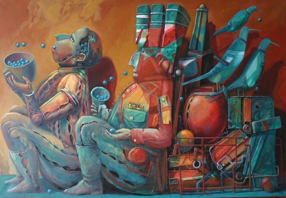 Feeding 3 by Valeriu Buev