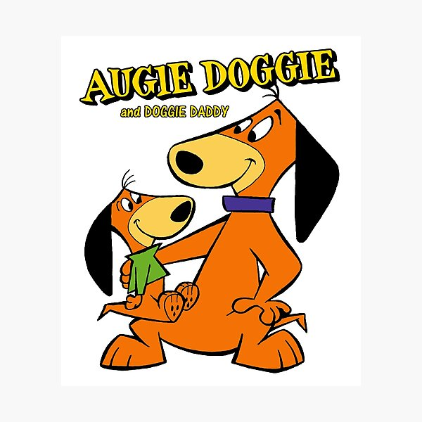Augie Doggie & Doggie Daddy Photographic Print