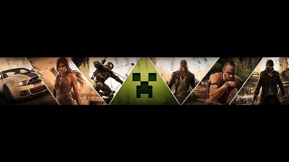 Gaming Banner by DarkeTonic