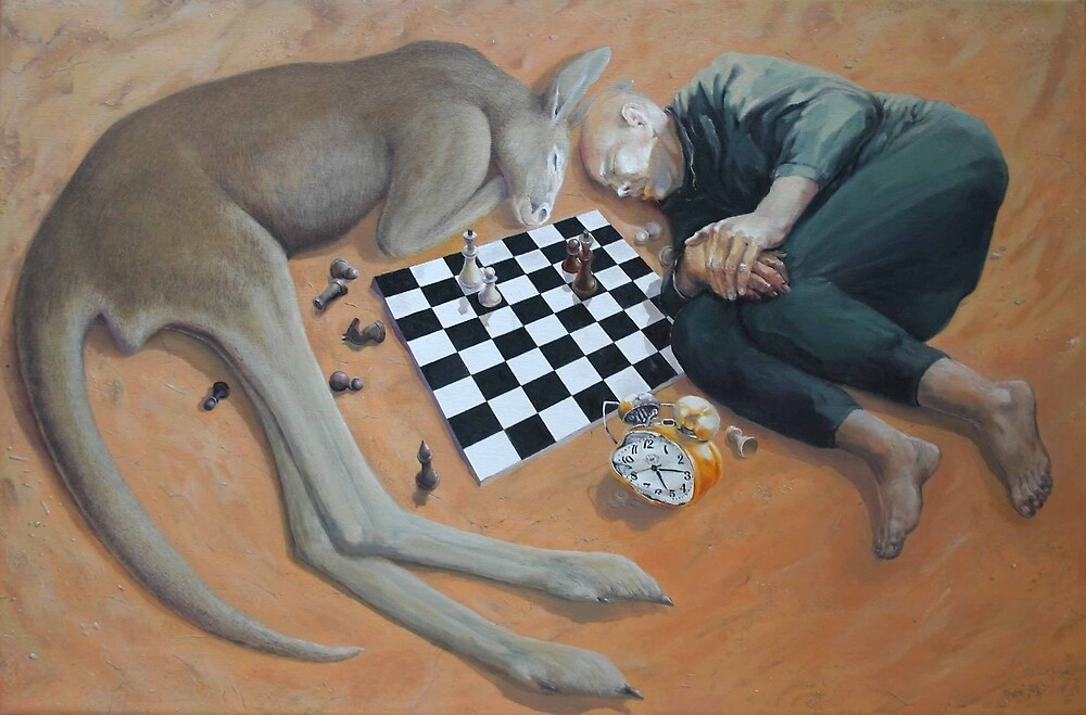 chess game 2 by Valeriu Buev