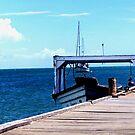 Boat at Dock by Benjamin Sloma