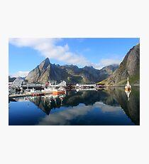 Reflections of Lofoten Photographic Print