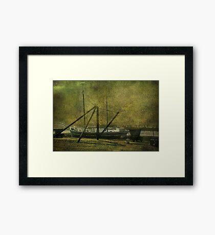 Morwelham Tall Ship Framed Print