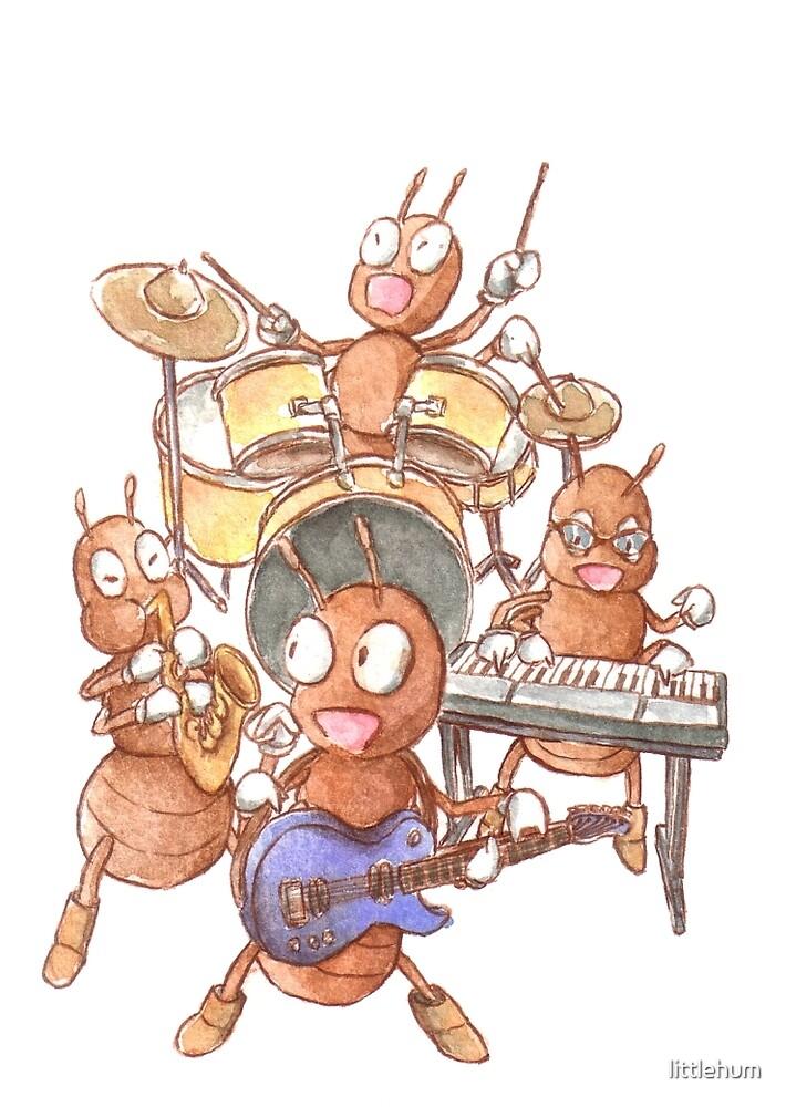 Rock  Ant  Roll by littlehum