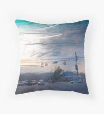 Western Sky  Warren Road Throw Pillow