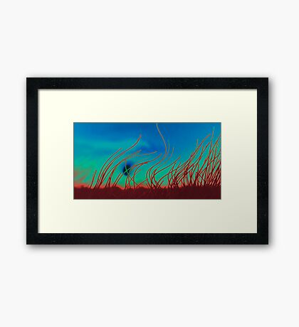 Dawn dreams Framed Print
