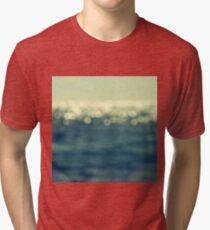 blurred light Tri-blend T-Shirt