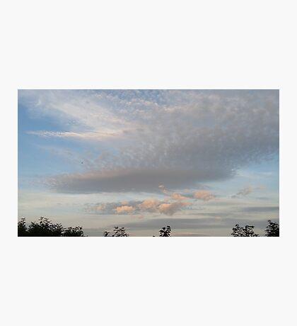 Evening sky - Scotland - 2015 August 22 Photographic Print