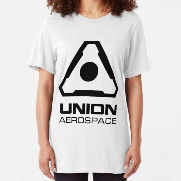 Union Aerospace - Black insignia Slim Fit T-Shirt