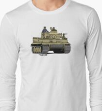 The Dogs of War: Tiger Tank Long Sleeve T-Shirt