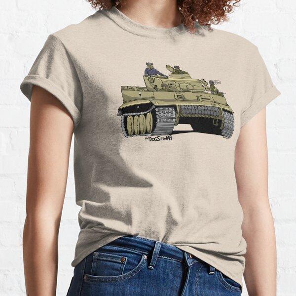Gott Mit Uns Tiger German Army Tank Panzer WW2 Long Sleeve T-Shirt