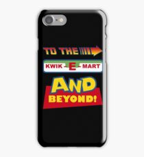 To The Kwik-E-Mart iPhone Case/Skin