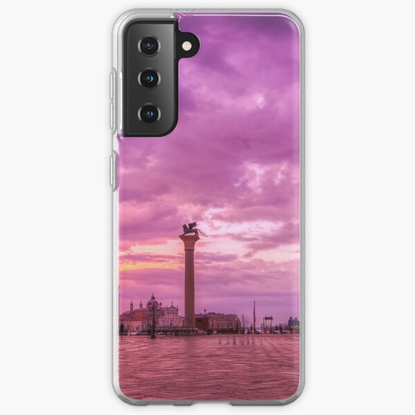 Piazza San Marco and Palazzo Ducale in Venice Samsung Galaxy Soft Case