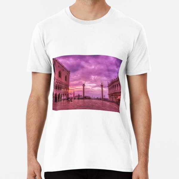 Piazza San Marco and Palazzo Ducale in Venice Premium T-Shirt