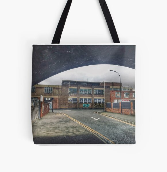 Side street  All Over Print Tote Bag