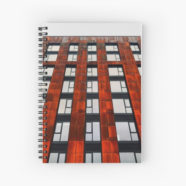 Rusty apartments Spiral Notebook