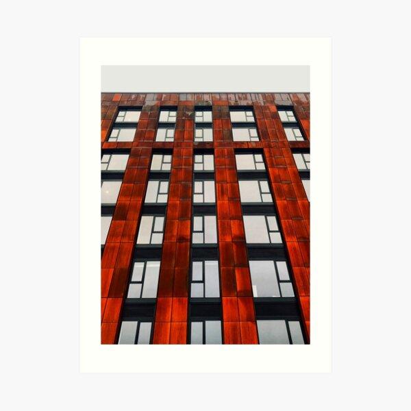 Rusty apartments Art Print