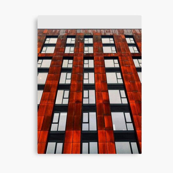 Rusty apartments Canvas Print