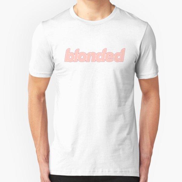FRANK OCEAN pink blonded logo - frank ocean DHL Slim Fit T-Shirt