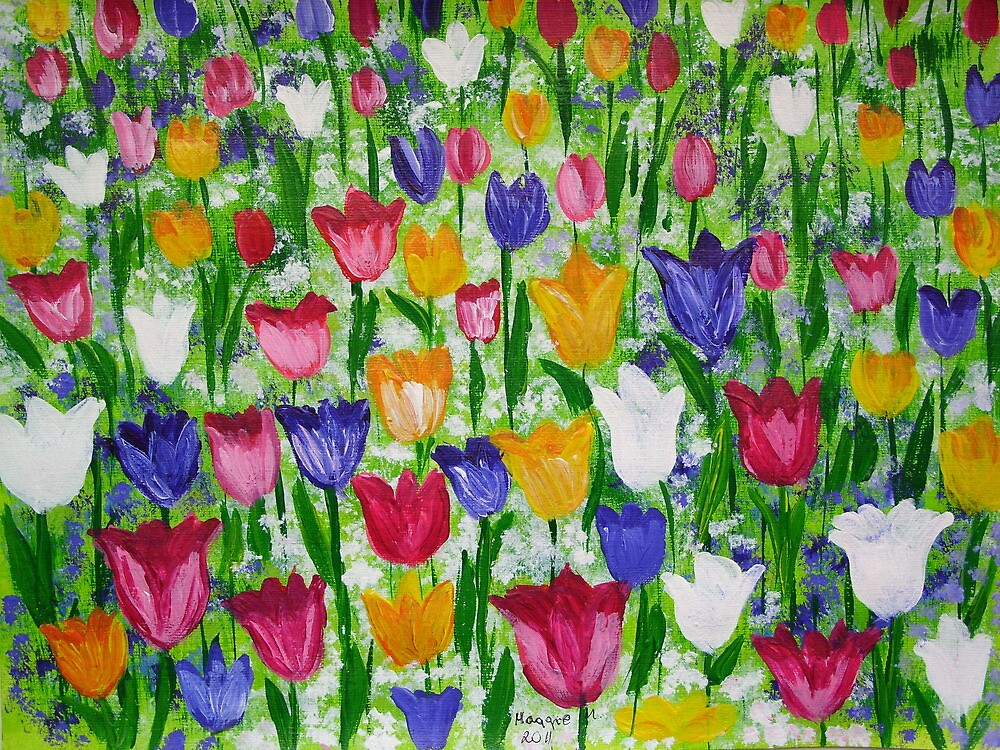 Tulips as far as you can see by maggie326