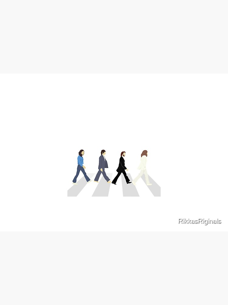 The Beatles Abbey Road by RikkasRiginals