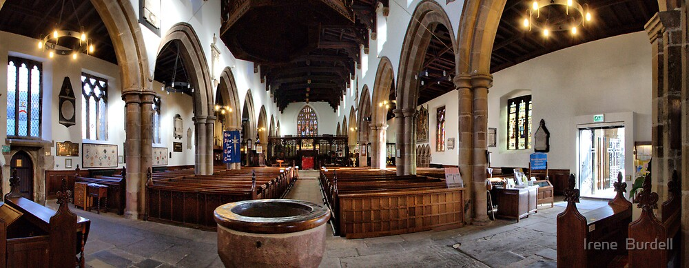 Holy Trinity Church . panorama. by Irene  Burdell